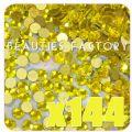 [BF] SS8 Lemon Yellow Crystals - 2.3-2.5mm