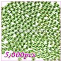 5000pcs 5mm PRO Rhinestones (Round)  Light Green 01 - 5000pcs 5mm