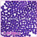 Nail Art 5000pcs 5mm PRO Rhinestones (Round) 06 Round Violet Rhin...