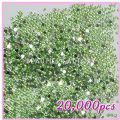 20000pcs Heart Shape Rhinestones  Light Green 02 - 20000pcs