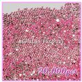 20000pcs 2mm PRO Rhinestones (Round)  Light Pink 07 - 20000pcs 2m...