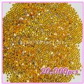 20000pcs 2mm PRO Rhinestones (Round) ? Gold Yellow 05 - 20000pcs ...