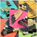 12pcs Makeup Brush Set (Peru) - 12pcs