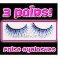 3 Pairs x Eyelash #V862 - 3 pairs