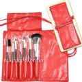 Hot Red - Makeup Brush x 7pcs - 7pcs