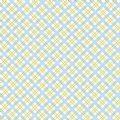 Tanya Whelan Delilah - Picnic Check Blue Fabric - 1/4 metre