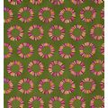 Tula Pink-Acacia-Pineapple Slices-Olive Fabric - 1/4 metre