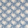 Tilda Seaside Life Fat Quarter - White Flower Blue