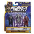 Marvel Guardians Of The Galaxy Figure Pack Ronan & Peter Quill #a...