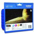 Original Brother LC1100BK/C/M/Y High Capacity Black Ink Cartridge...